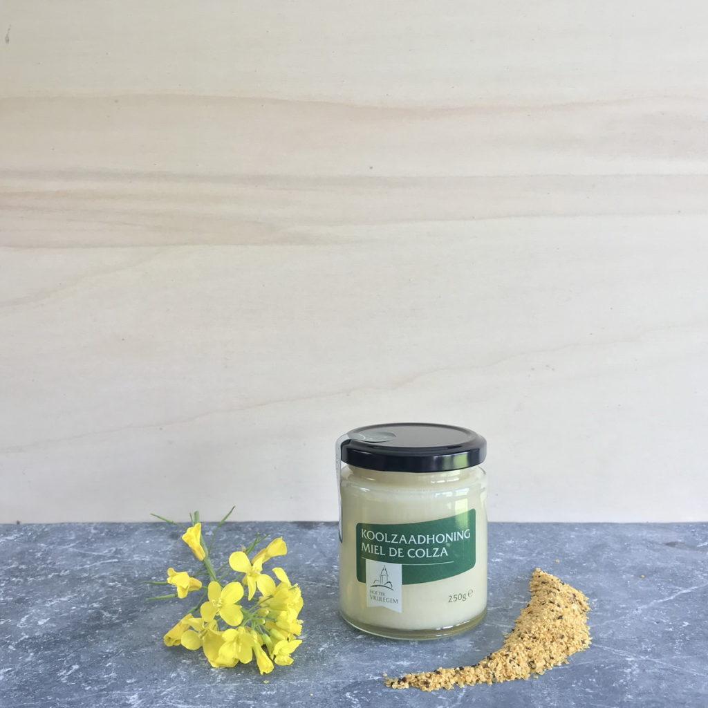Koolzaadhoning / Miel de colza 250 gram